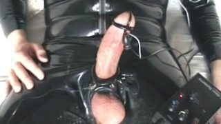 Electro Stim In Spandex Rubber With Pop-shot 1
