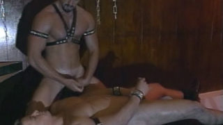 Queer Marionette Will Get Trussed And Showered